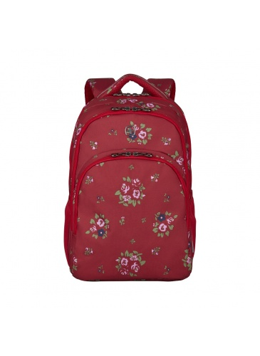 Mugursoma Wenger UPLOAD Red Floral Print 16